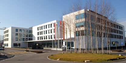 Endress+Hauser Headoffice in Reinach, Schweiz
