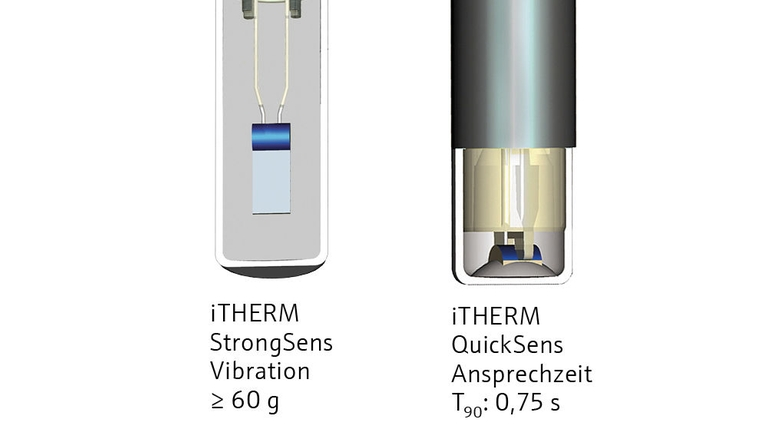 iTHERM®QuickSens und iTHERM®StrongSens