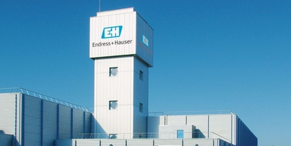Endress+Hauser Flow France, Wasserturm
