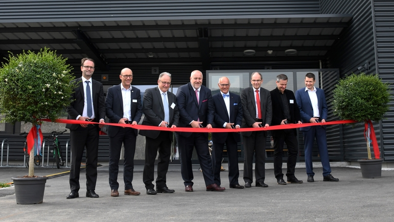 Dedication ceremony at Innovative Sensor Technology IST AG in May 2019.