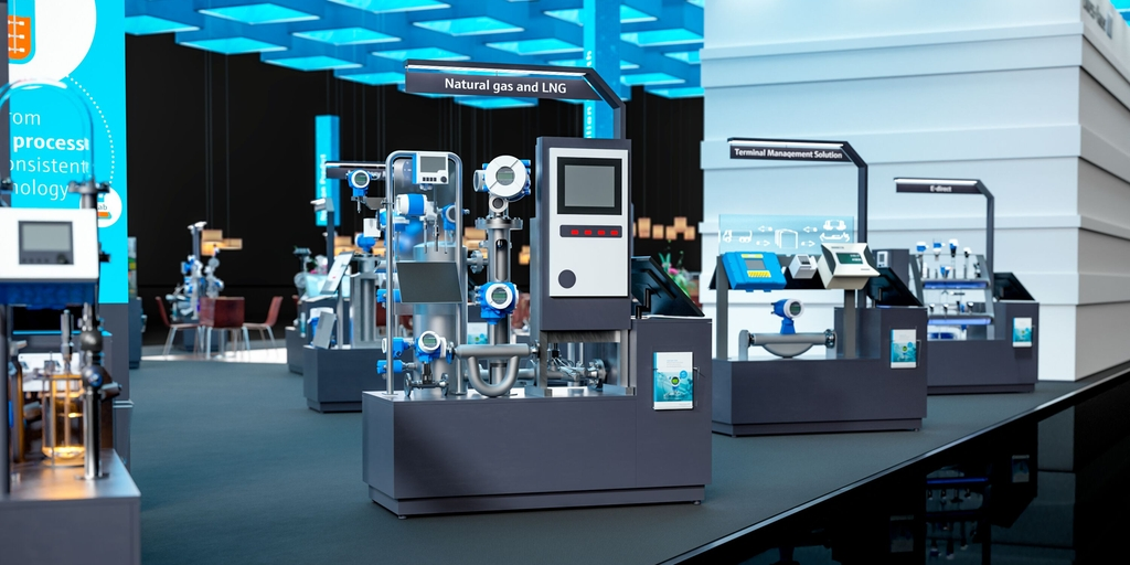 Endress+Hauser virtueller Messestand